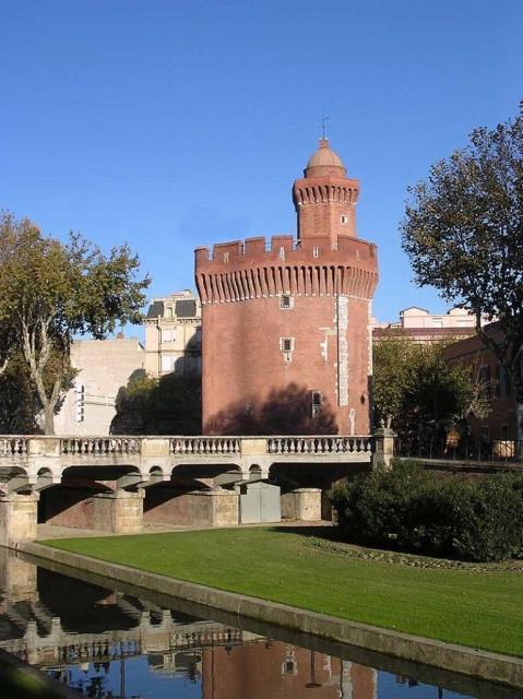 Le Castillet à Perpignan