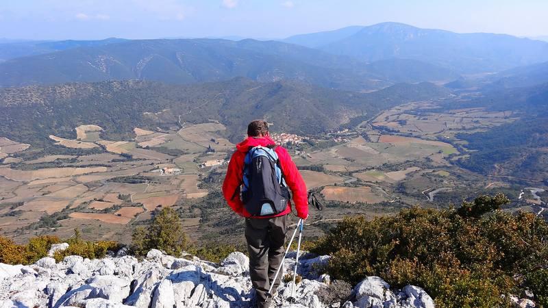 Au dessus de Cucugnan