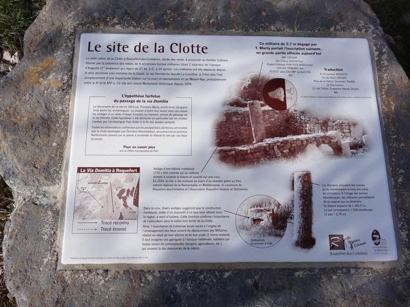 Le site de la Clotte