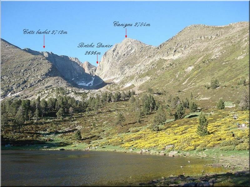 Panorama depuis le refuge des Cortalets