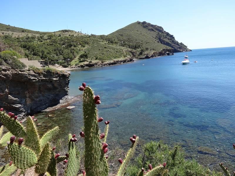 Cap Norfeu depuis Cala Pelosa
