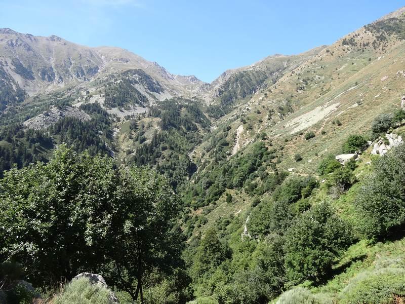 Chaîne du roc Nègre au Canigou