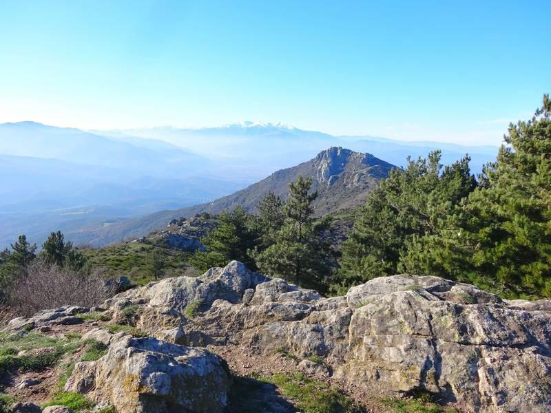 Panorama depuis le pic d'Oreilla