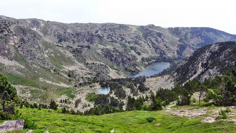 Lac de Nohèdes et gorg Blau
