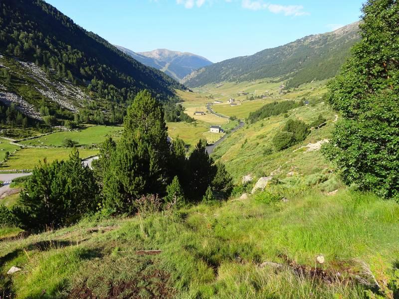 La vallée d'Inclés