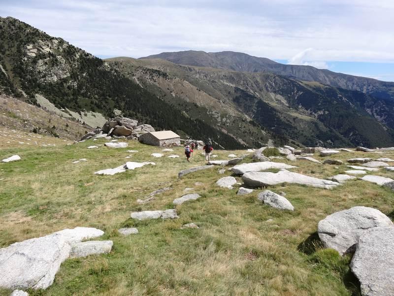 Cabane au col des Mollets
