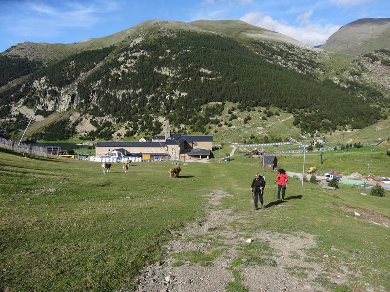 Départ du Vall de Nuria