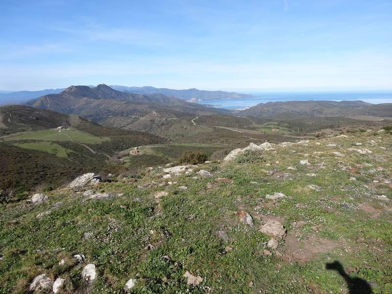 Panorama jusqu'au Phare de Cerbère