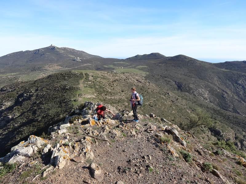 Accés au Puig de l'Aliga