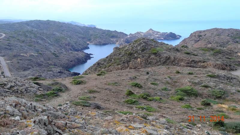 Panorama depuis Cap Creus