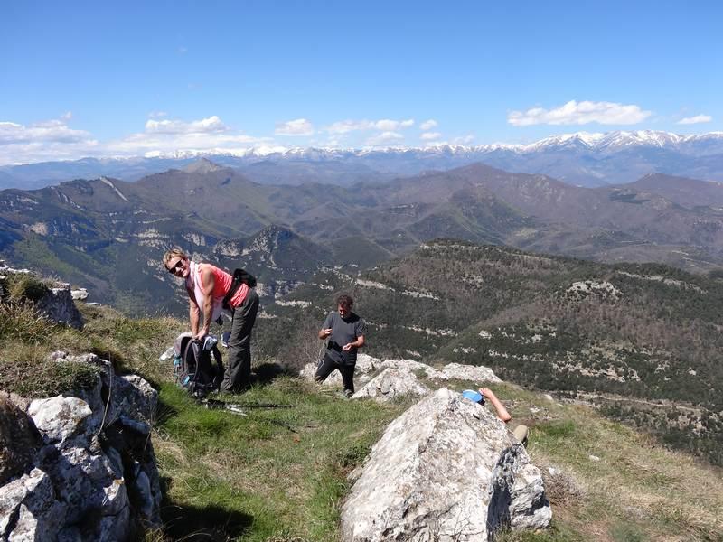 Au sommet du Bassegoda