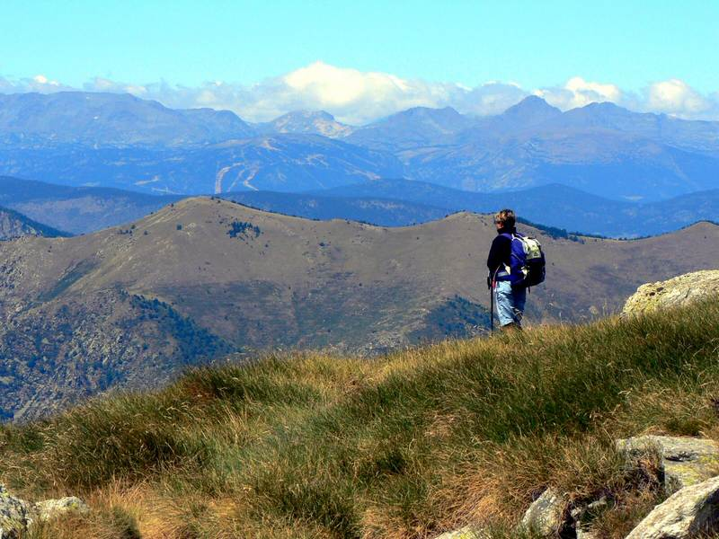 Panorama au col de la Roquette
