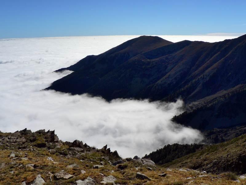 Une mer de nuage