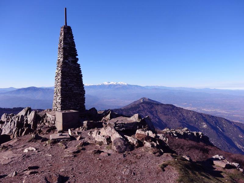 Pic de Neulos et Chaîne du Canigou