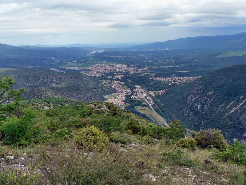 Prades et plaine de Roussillon