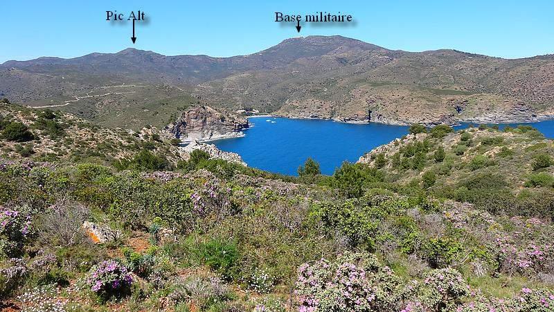 Baie de Cala Montjoi et Joncols