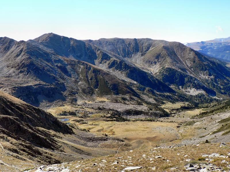 La vallée du Pla de Cady