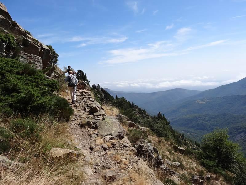 sentier vers Prats Cabrera